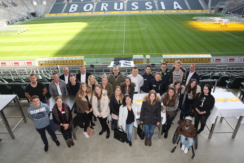 News to use Azubis im Borussia Park