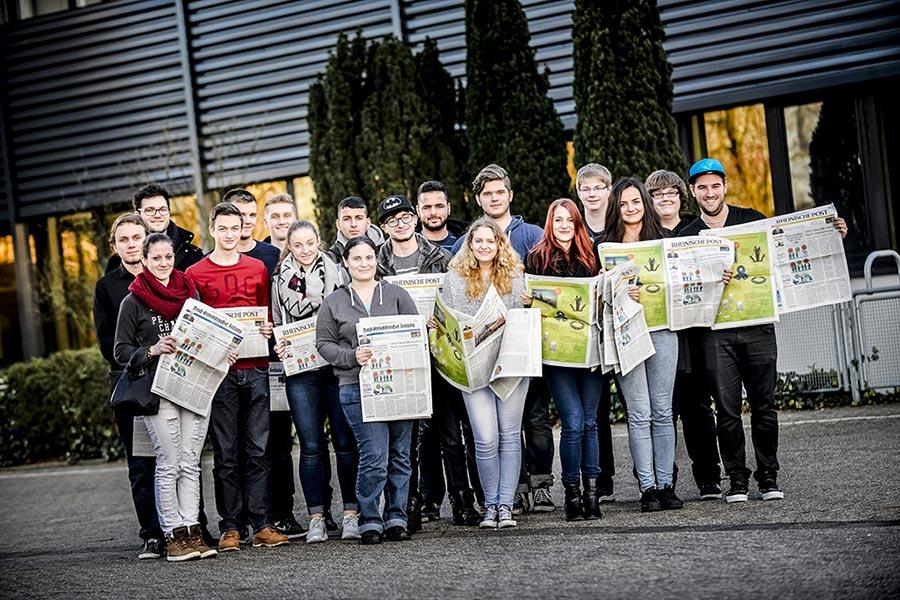 Gruppenfoto bei Auftaktveranstaltung von News to use