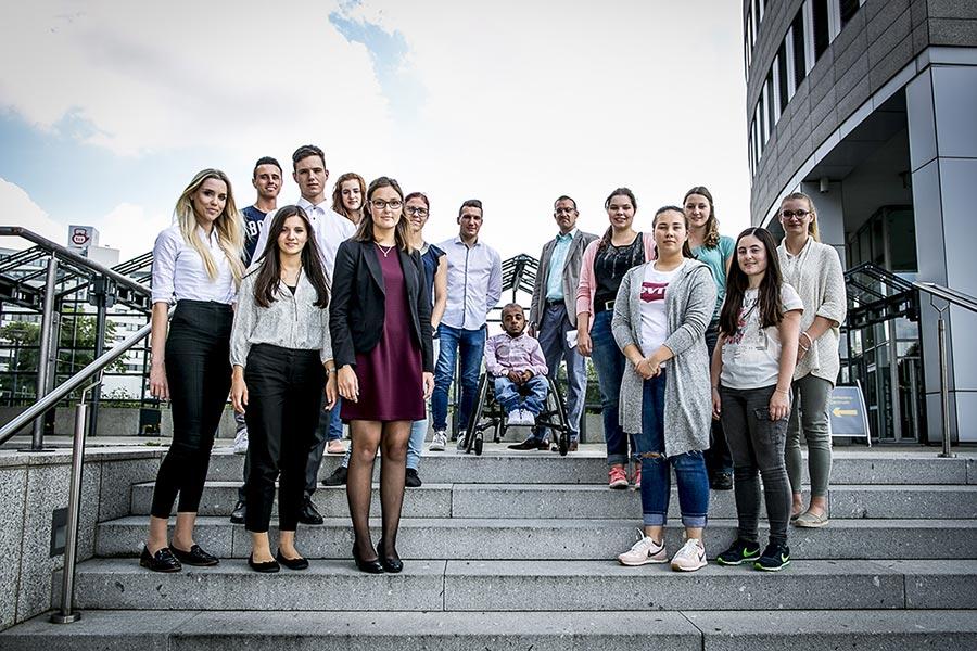 Gruppenfoto bei News to use bei Workshop zum Thema Zeit und Selbstmanagement