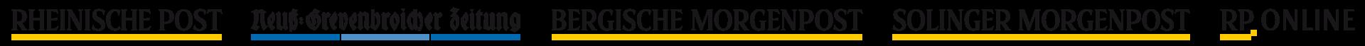 Logos verschiedener Zeitungen